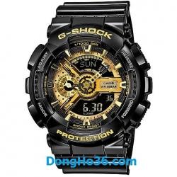 Casio G-Shock phiên bản đặc biệt Black Gold GA-110GB-1A