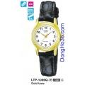 Đồng hồ nữ mặt tròn Casio LTP-1096Q-7B