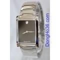 Đồng hồ mặt chữ nhật OP 58018-01M-207