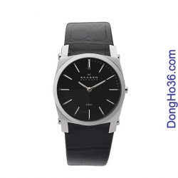 Đồng hồ đeo tay quai da Skagen 859LSLB