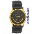 Đồng hồ titan dây da 1482YL02